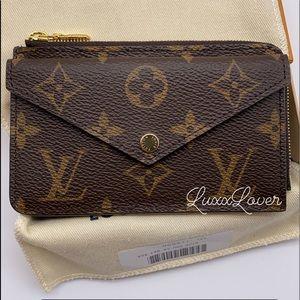 Louis Vuitton Monogram Recto Verso Card Case
